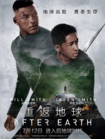 BD50-2D 56   【重返地球/末日1000年】  带次世代国配  带静音 After Earth (2013)  豆瓣评分5.6